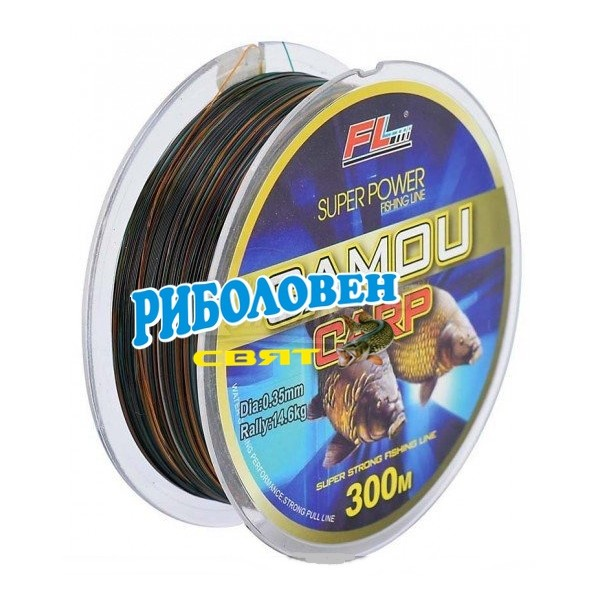 FL Super Power Camo Carp/300м/0, ...