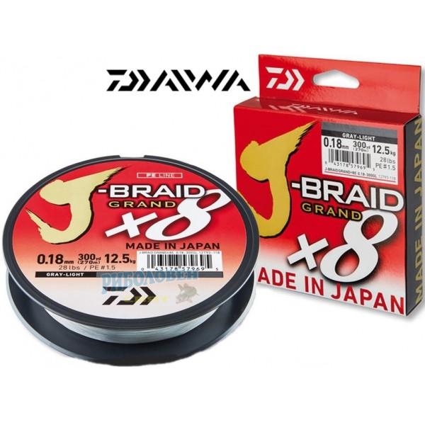 DAIWA J-BRAID GRAND X8 - GREY ...